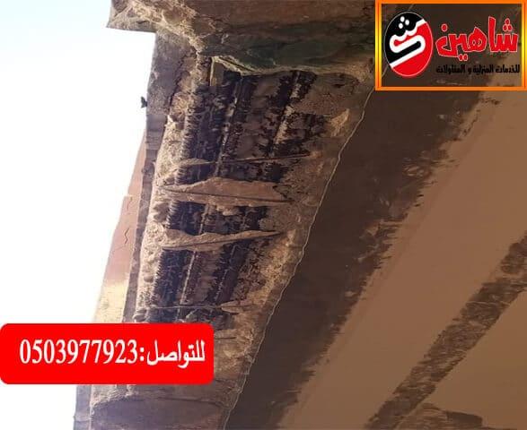 شركة معالجة خرسانة الرياض